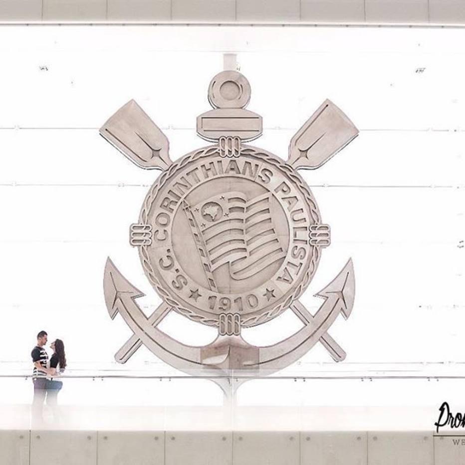 Psiu Noiva - Corintianos Casam no Intervalo de Jogo Oficial /ctv-yhx-prometo