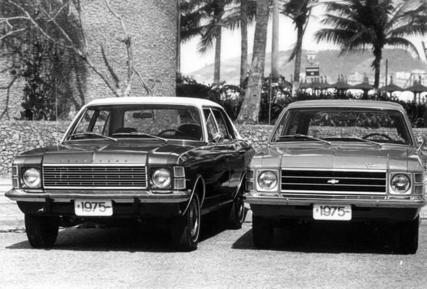 Modelo foi o primeiro automóvel de passeio produzido pela Chevrolet no Brasil