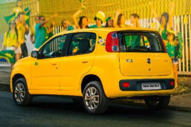 FIAT UNO RUA - COPA DO BRASIL 2014