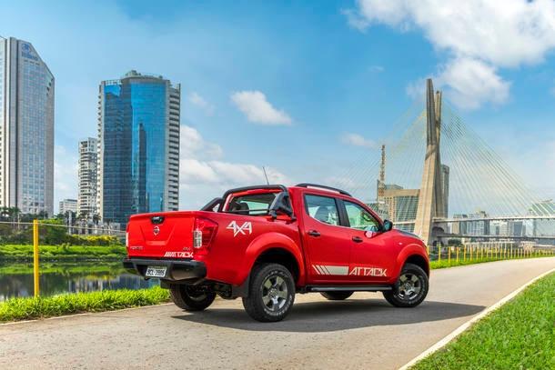 Nova Nissan Frontier Attack