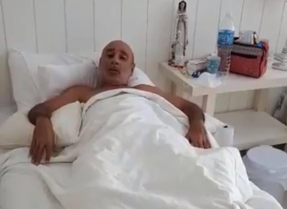 Em novo vídeo, Queiroz diz que dança no hospital foi para levar alegria à enfermaria