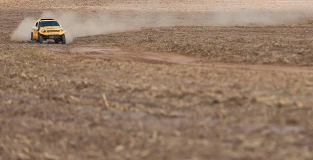 Picape Ranger FIA T1 da Equipe X-Rally