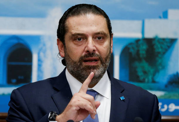 O premiê libanês, Saad al-Hariri, anuncia que pedirá sua renúncia