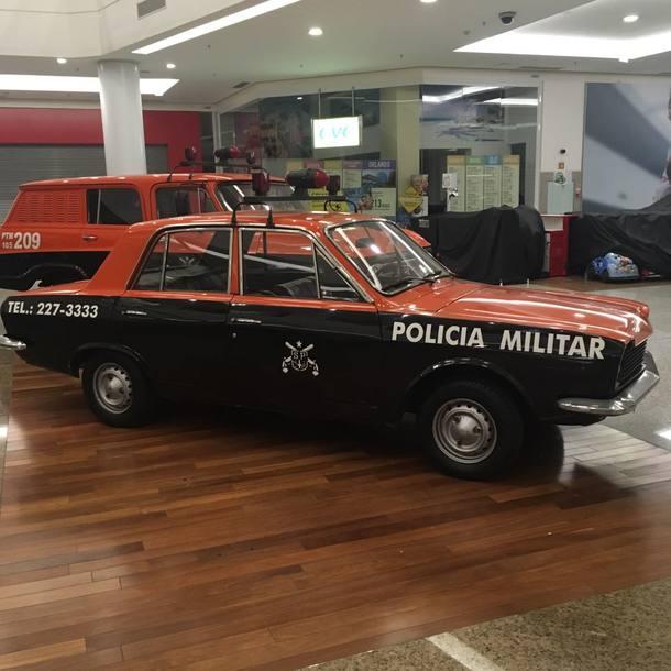 Exposição Carros de Polícia