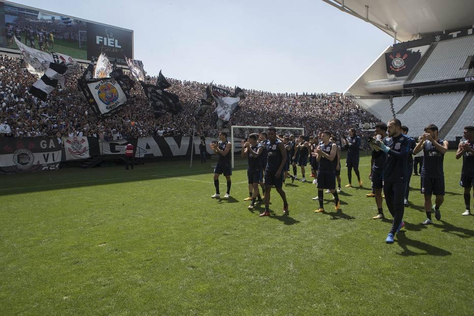 Organizadas do Corinthians se unem para cantar  uma só voz  contra o ... 8b976c7b85e54