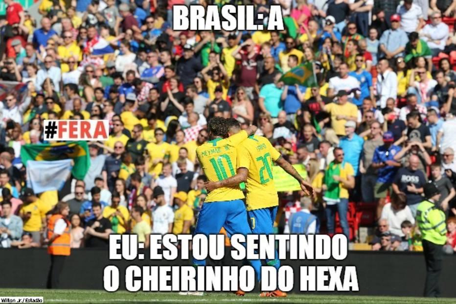 326e4f9f04e47 Torcida brasileira sonha com a conquista do hexacampeonato brasileiro
