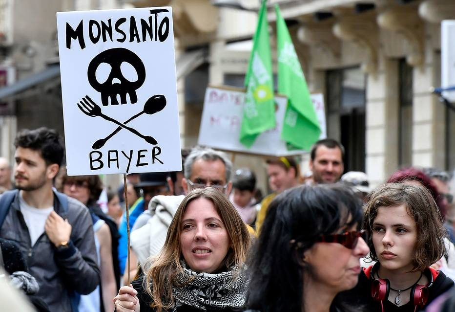Monsanto Bayer protestos