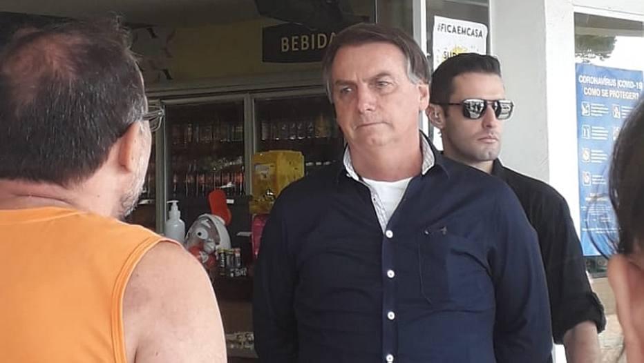 Jair Bolsonaro Passeio Brasília Coronavirus