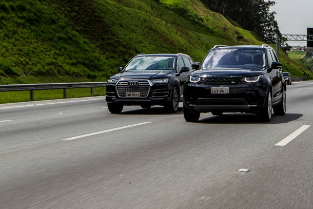 Comparativo: Audi Q7 x Land Rover Discovery