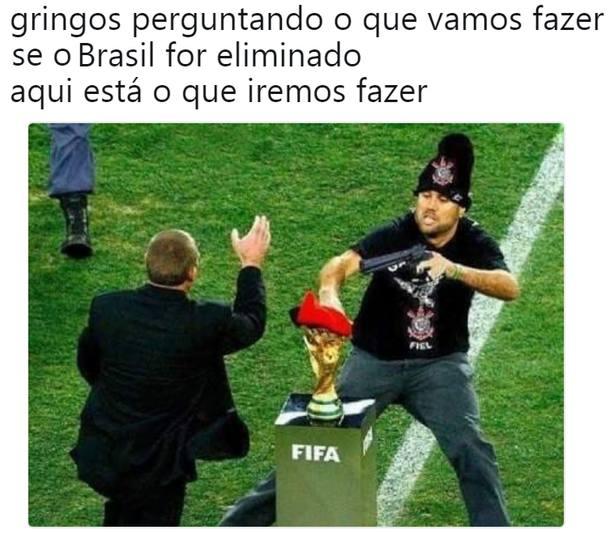 O sonho acabou! Seleção brasileira é eliminada pela ...