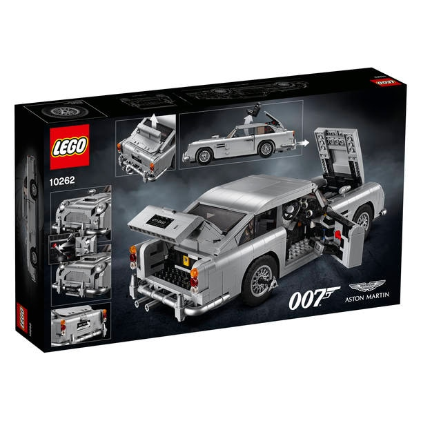 Carro de James Bond vira modelo de Lego