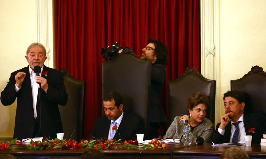 Lula e Dilma participam de evento na Faculdade de Direito da UFRJ
