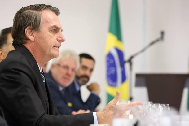 Resultado de imagem para Bolsonaro café da manhã com jornalistas