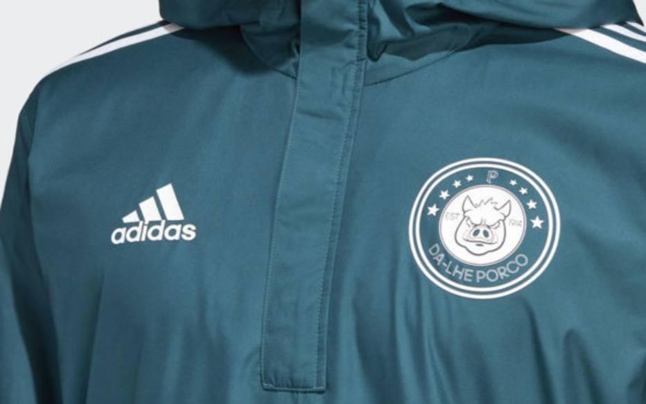 Adidas começa a vender jaqueta do Palmeiras com escudo polêmico ... ed132993eba91