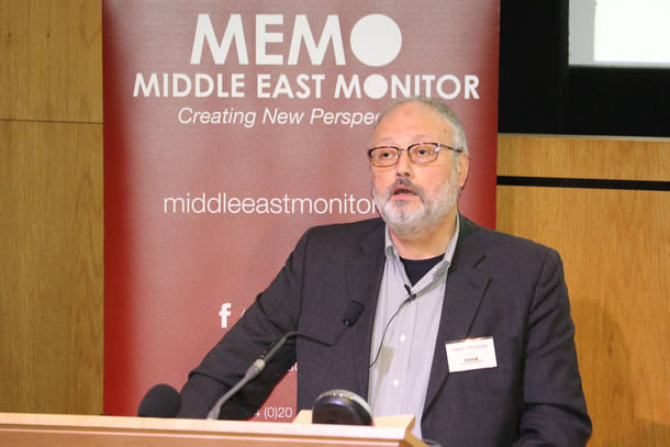 O jornalista saudita Jamal Khashoggi