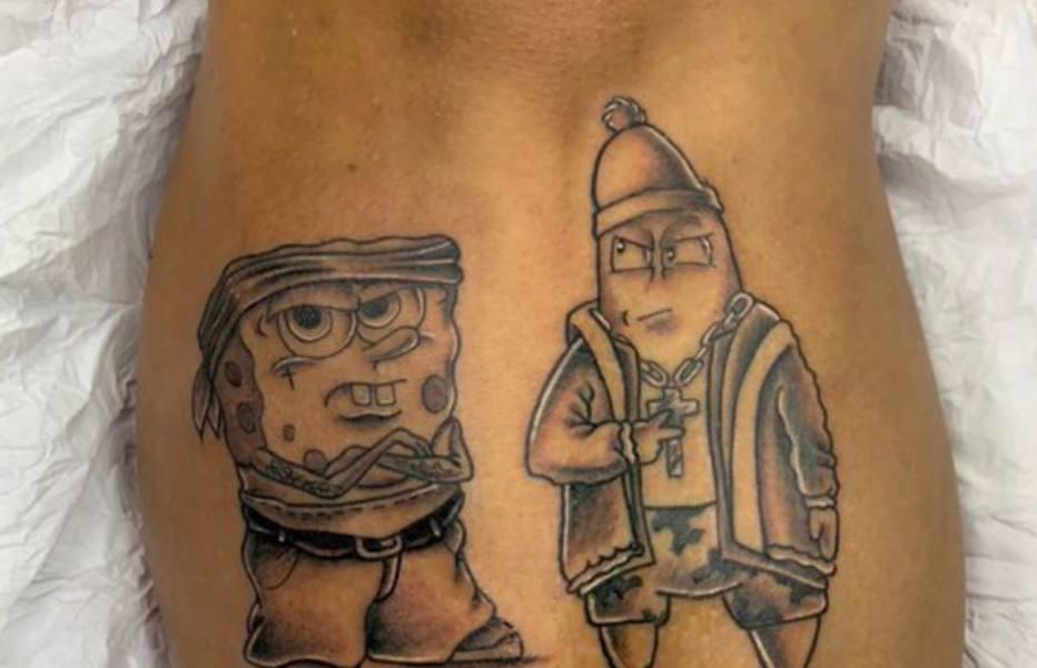 Gosto peculiar  confira algumas tatuagens mais curiosas de jogadores eab3c5d0443