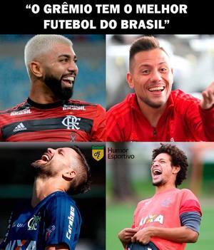 Grêmiover Os Memes Da Goleada Do Flamengo Sobre O Grêmio Na