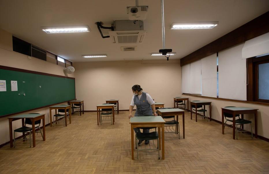 Escolas estão com aulas suspensas desde março