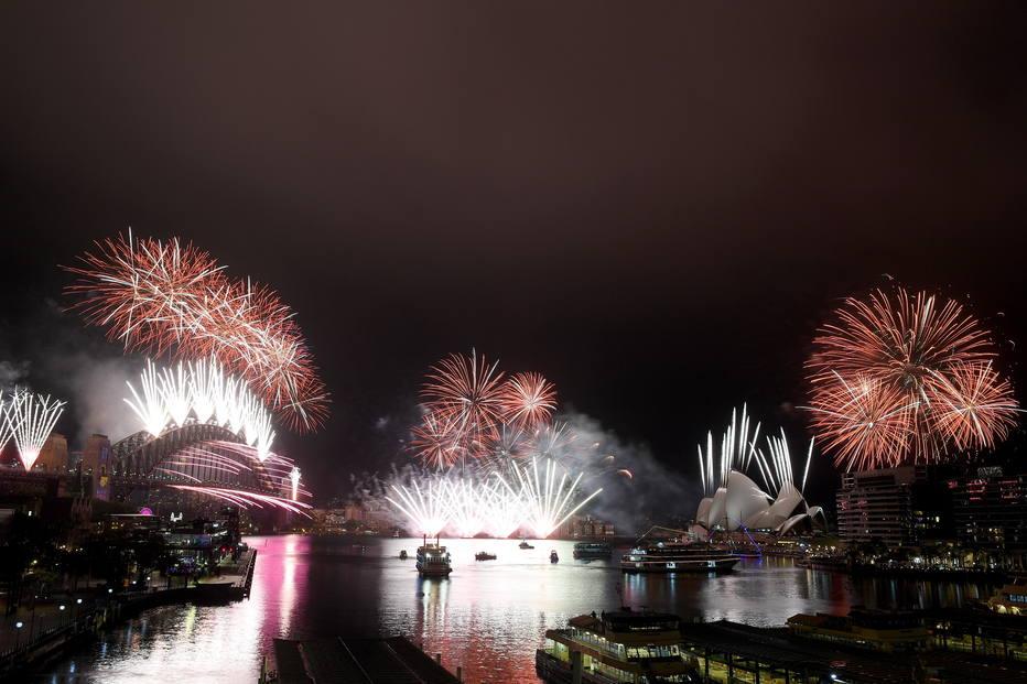Comemorações do ano novo no mundo