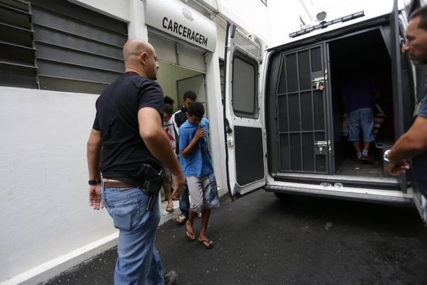 No Estado, 56,7% das prisões são mantidas