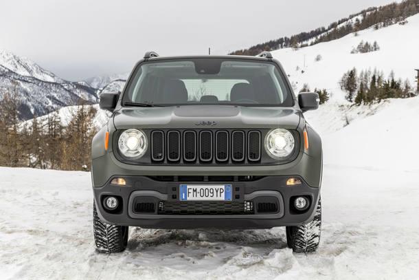 Jeep Renegade reestilizado na Europa
