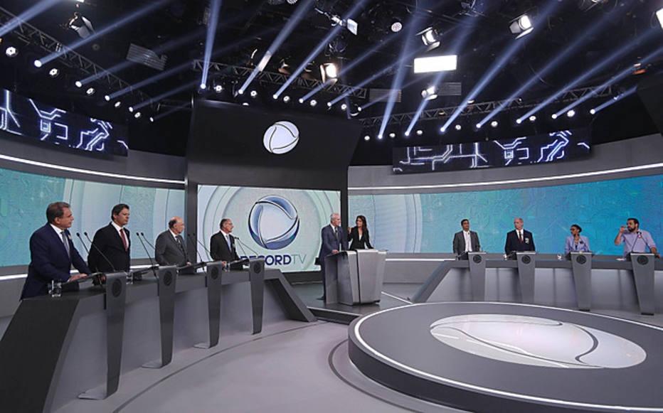 Debate na TV Record