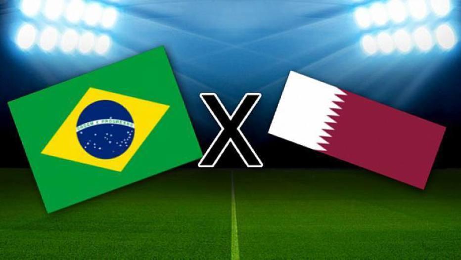 Brasil x Catar: transmissão ao vivo