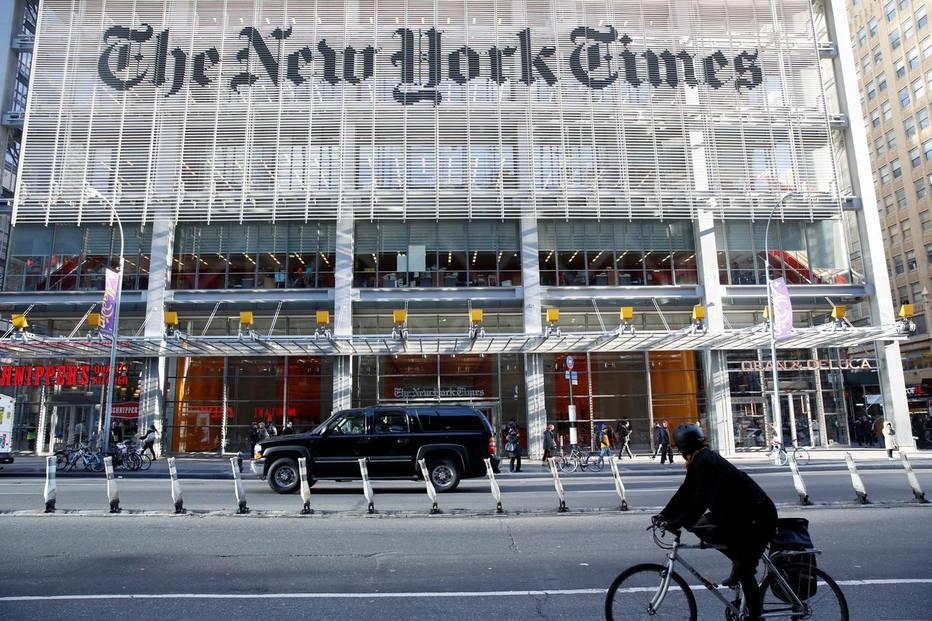 Versão digital do 'New York Times' já fatura mais que a impressa