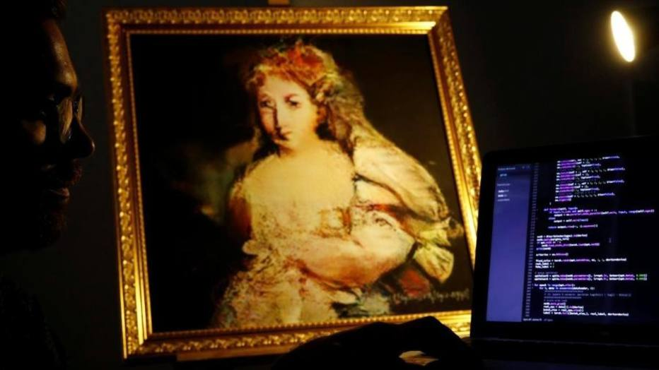 Quadro de Rembrandt feito por robô é colocado à venda