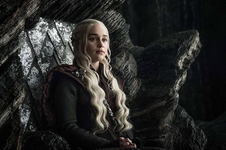 Emilia Clarke publica foto dos bastidores da série