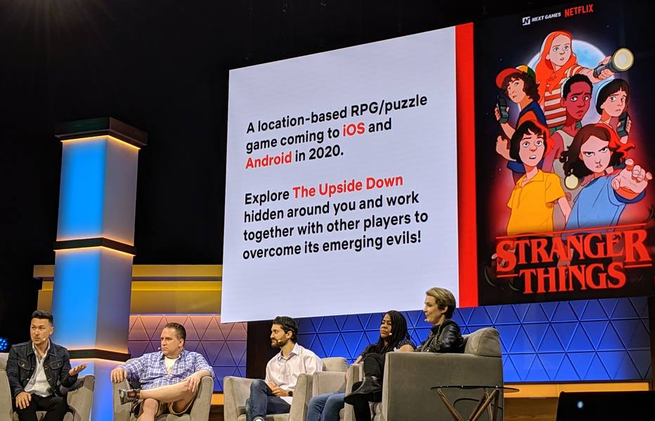 Netflix destaca ambições no setor de games com títulos como 'Stranger Things'