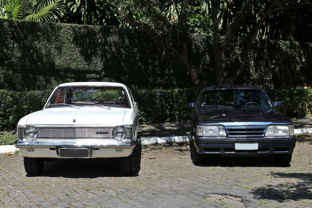 Carro do leitor: duas gerações de Opala