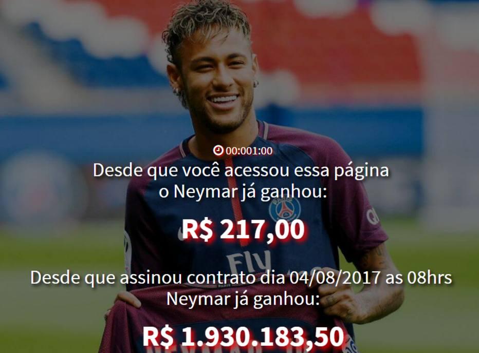 Site brinca com salrio de neymar em uma semana j foram r 2 ctv 07d salario neymar stopboris Image collections