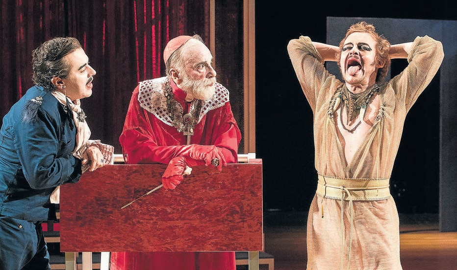 Matheus Nachtergaele e Renato Borghi se encontram no palco em fábula sobre o ofício do artista