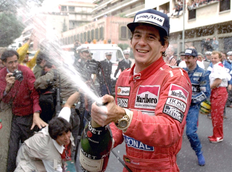FERA DO PASSADO  Ayrton Senna bc486517ce0f1