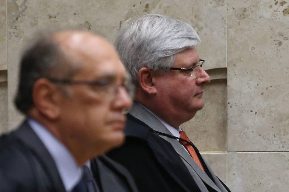 Gilmar Mendes e Rodrigo Janot