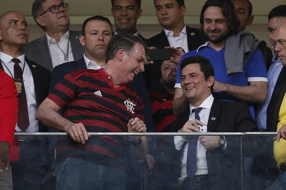 Planalto age para caso Sérgio Moro não alcançar Bolsonaro