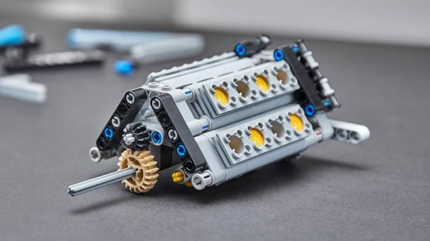 Bugatti Chiron de Lego