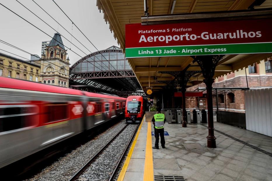 Como funciona o trem que vai do centro ao Aeroporto de Guarulhos