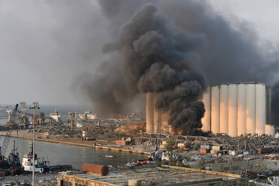 Líbano - Beirute - explosão