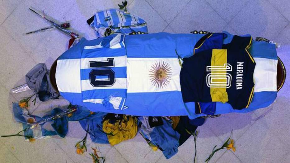 Corpo de Maradona é velado na Casa Rosada