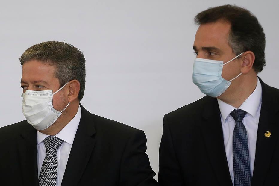 Arthur Lira e Rodrigo Pacheco