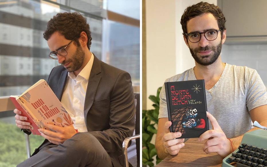 Advogado de 27 anos, Pedro Pacífico usa perfil no Instagram para fugir das leituras corporativas.