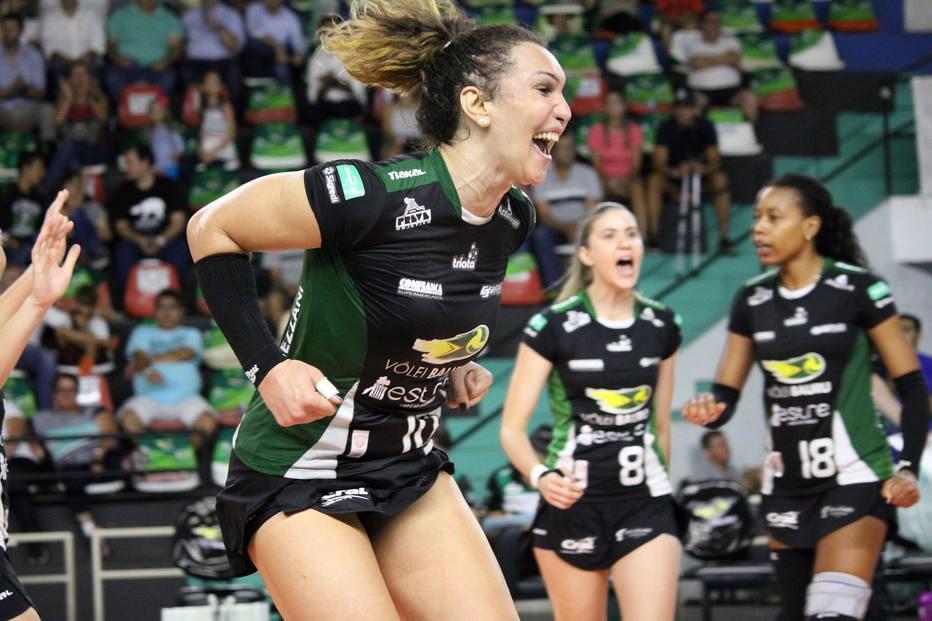 Tifanny Abreu, jogadora do Vôlei Bauru Foto: Divulgação/Neide Carlos/Vôlei Bauru