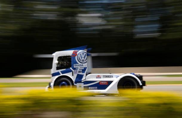 Aceleramos o VW da Copa Truck