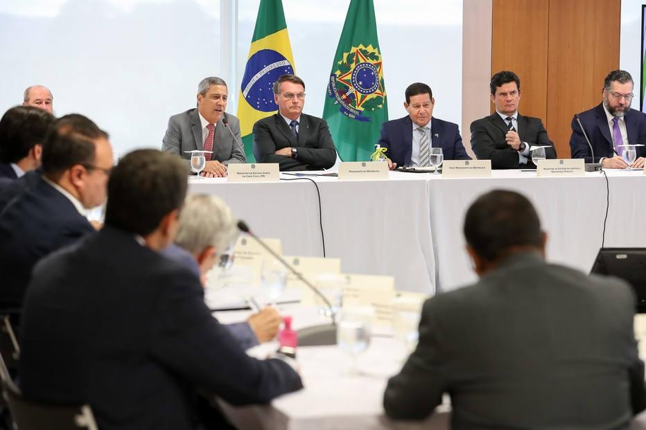 Reunião de 22 abril