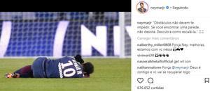 Após Confirmação De Cirurgia Neymar Publica Mensagem
