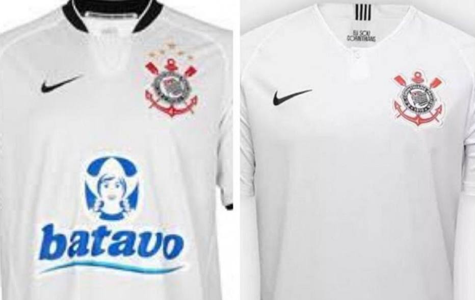 Corinthians compara camisas antes de anunciar o BMG como patrocínio master 1dbcd4caf7544