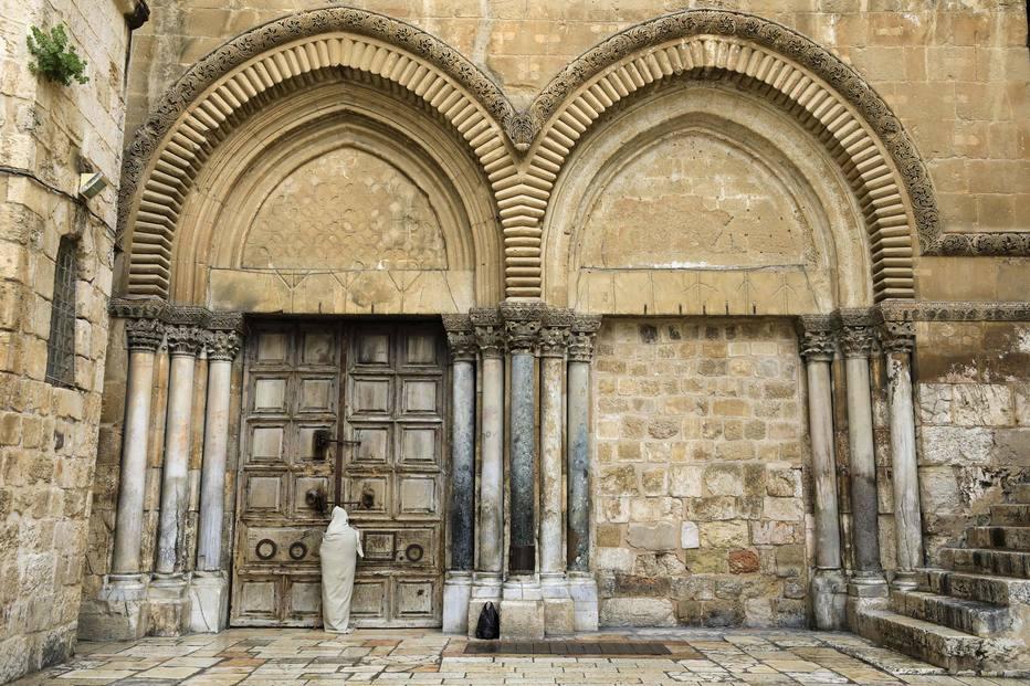 Semana Santa Israel Coronavirus Igreja do Santo Sepulcro