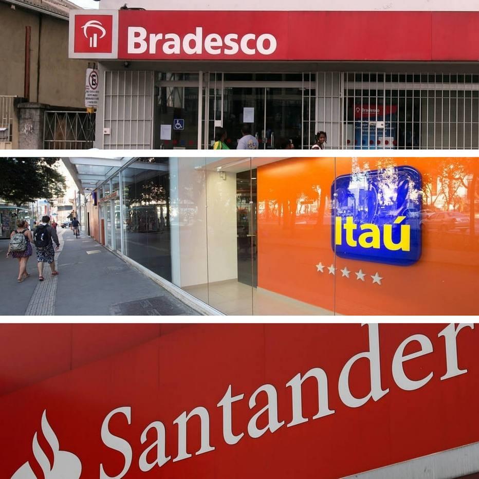 Bancos privados - Bradesco/Itaú/Santander